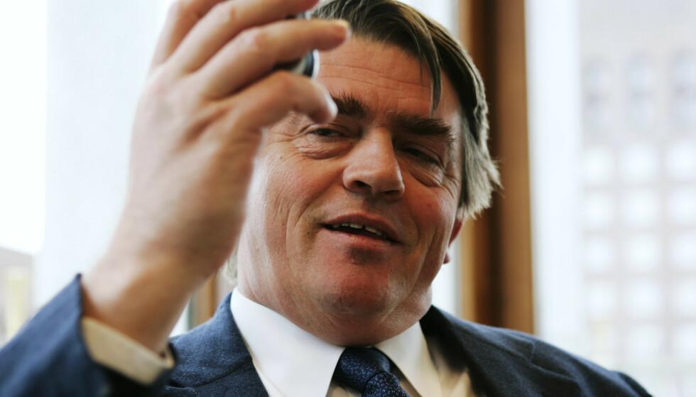 UENIG: Jan P. Sissener mener en ikke kan sammenlikne inntektene på den måten SSB har gjort. Foto: NTB Scanpix