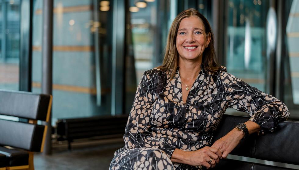 ENKLERE: Beate Svendsen, salgssjef hos Eurocard, har gode løsninger for å rydde opp i utleggshåndtering for bedrifter.