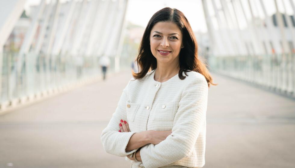 FORENKLING: Ila Sabet Bergström foreslår forenkling og digitalisering av bedriftens administrasjon.