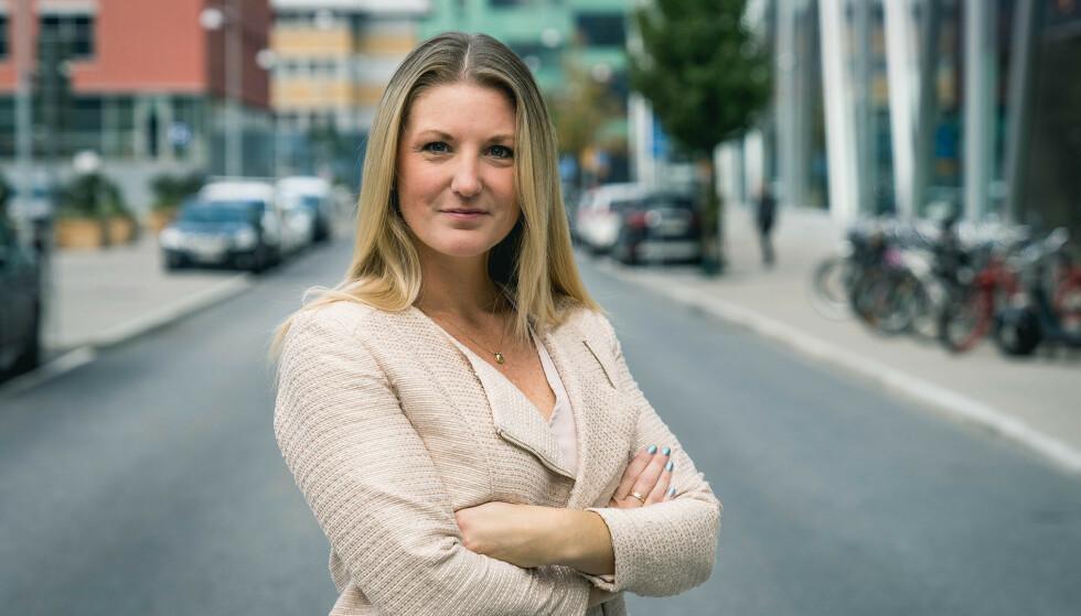 KREATIV: Våg å tenke utenfor boksen, råder Ulrika Ledel hos Eurocard.