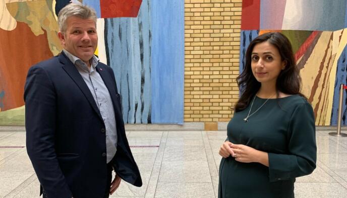URO: Ap-nestlederne Bjørnar Skjæran og Hadia Tajik er dypt bekymret for hvor mange reiselivsbedrifter som vil klare seg når neste krisepakke ikke utbetales før neste år.