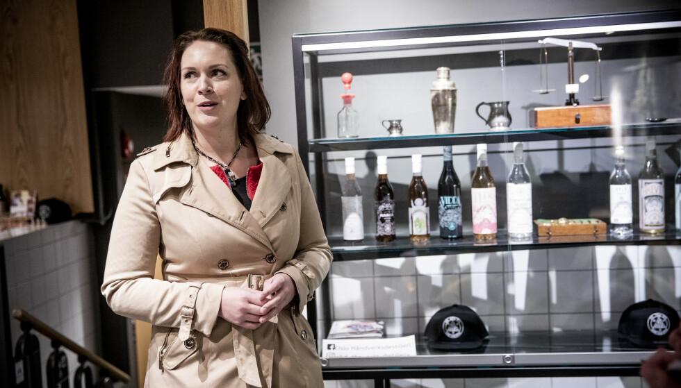 - IDIOTISK: Åshild Bruun-Gundersen (Frp) omtaler mange av restriksjonene for lokale alkoholprodusenter som «idiotiske og absurde». Foto: Christian Roth Christensen / Dagbladet