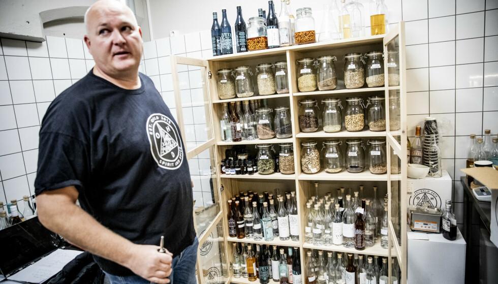 NORSKE URTER: Alkoholpolitikk. Intervju med Oslo Håndverksdestilleri. Daglig leder Espen Tollefsen ved Oslo Håndverksdestilleri. Foto: Christian Roth Christensen / Dagbladet
