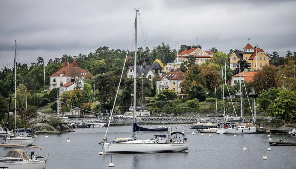 IDYLLISK: På det meste ble «Solsidan» sett av 2,5 millioner i Sverige. Her til lands ble serien sendt på TV 2, og var også uhyre populær blant nordmenn. Foto: Anna-Karin Nilsson / NTB