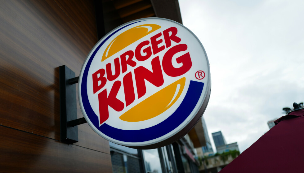 OPPFORDRING: Burger King oppfordrer folk til å handle på McDonald's og andre hurtigmatkjeder. Foto: Splash News / NTB