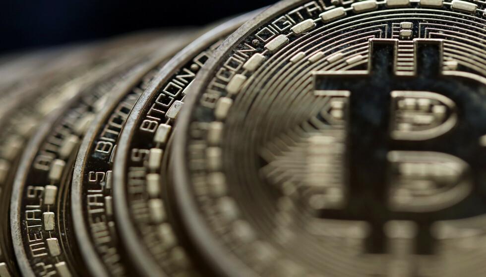 GIGAFORMUE: Bitcoin-formuen verdt flere milliarder norske kroner ble flyttet torsdag i forrige uke. Foto: REX / NTB