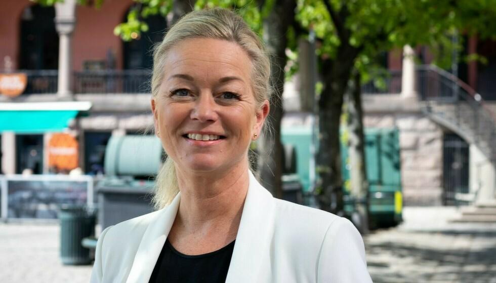 ETTERLYSER TILTAK: Christine Holtan Bøgh, miljøstiftelsen ZEROs fagansvarlige for transport, etterlyser tiltak fra politikerene som legger bedre til rette for elektrifisering av nyttetrafikken. Foto: Caroline Dokken Wendleborg / ZERO