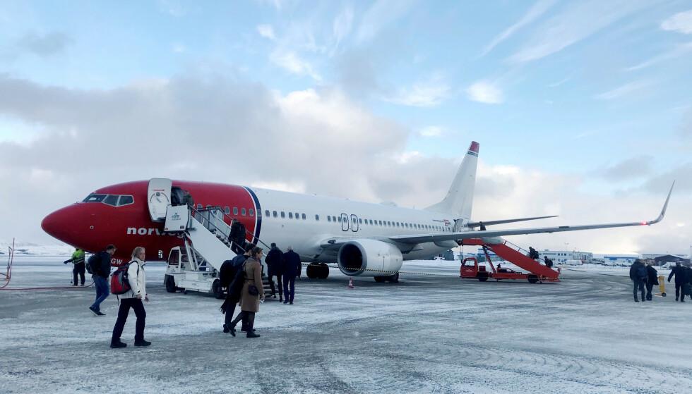 HJEM TIL JUL: Grunnet økt etterspørsel i forbindelse med jula, har Norwegian blant annet satt opp ekstra avganger. Foto: REUTERS/Gwladys Fouche/File Photo