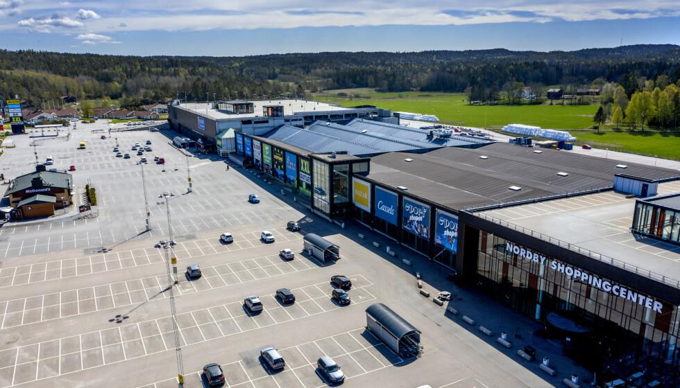 SKYHØY: Arbeidsledigheten i Strömstad er opp 75 prosent etter at «harryhandelen» tok slutt. Foto: John Terje Pedersen / Dagbladet.