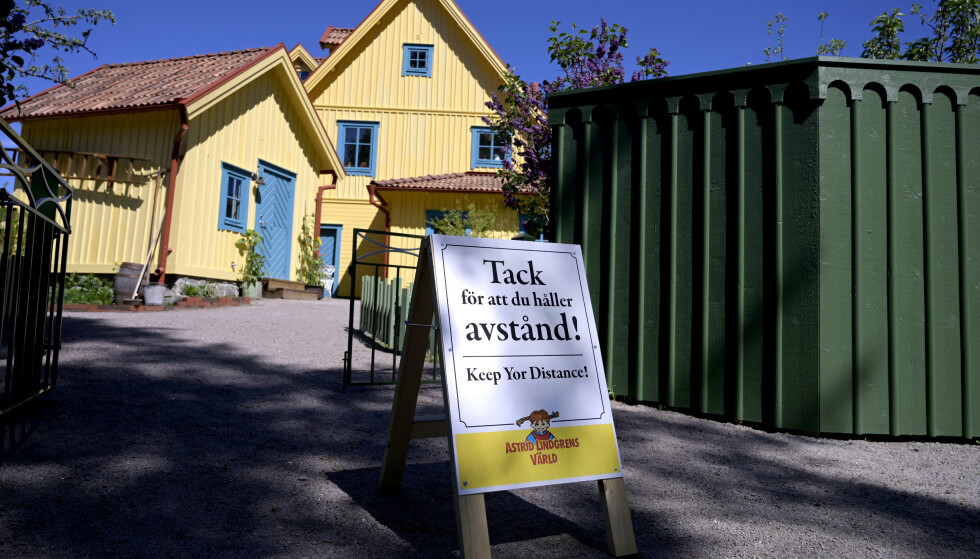 MÅTTE STENGE: Astrid Lindgrens verden i Sverige ble tvunget til å innstille nær en hel sesong. Nå trues parken av konkurs. Foto Janerik Henriksson / TT kod 10010 NTB kultur
