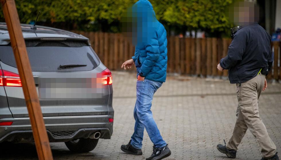 PÅGREPET: En 21 år gammel bilvaskeier ble også pågrepet for to uker siden mistenkt for corona-juks. Foto: Bjørn Langsem