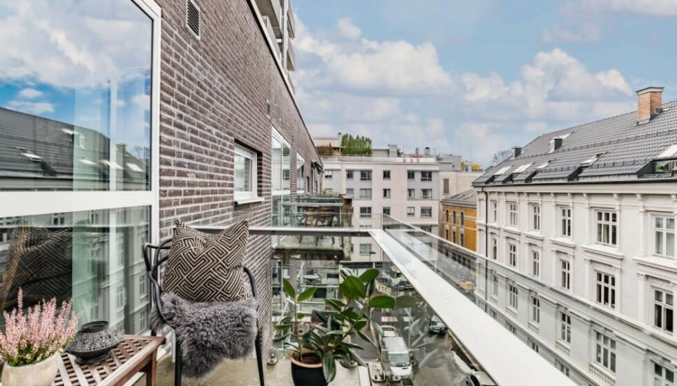 SELGES: Leligheten i Oslo sentrum er ikke godkjent, men skal nå selges. Foto: Eie Eiendomsmegling