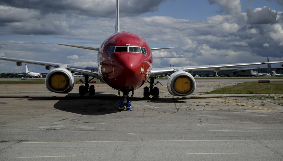 FORBANNA: Ny kriseplan for luftfarten legges fram onsdag. Foto: Vidar Ruud / NTB