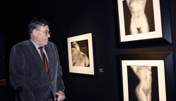 GLAD FOR: - Utstillingen på Munchmuseet var jeg spesielt glad for å bidra til, da den ga en unik mulighet til å speile Munch og Mapplethorpe, sier Stein Erik Hagen. Foto: Jacques Hvistendahl
