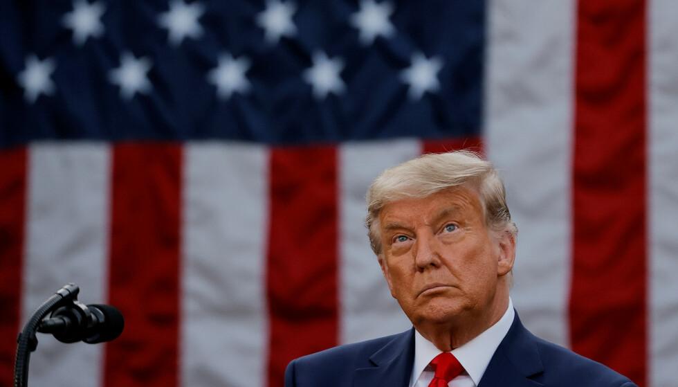 SNART FERDIG: Om to måneder flytter president Donald Trump ut av Det hvite hus. Da får han nye utfordringer å takle. Foto: REUTERS / Carlos Barria / NTB