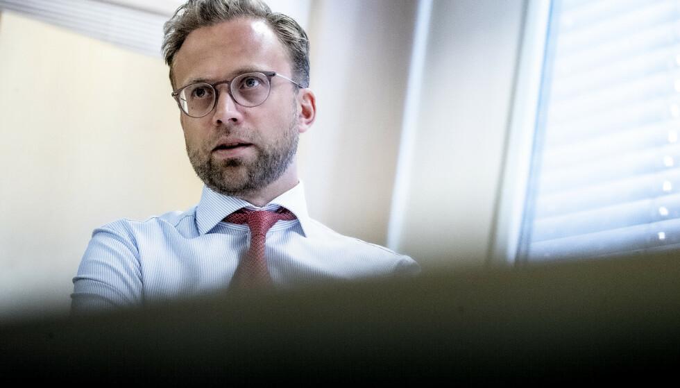 NEKTER: Regjeringen har ingen planer om en egen krisepakke mot Oslos uteliv, men kommunalministeren mener kommunen selv har ubrukt verktøy i kassa. Foto: Bjørn Langsem / Dagbladet