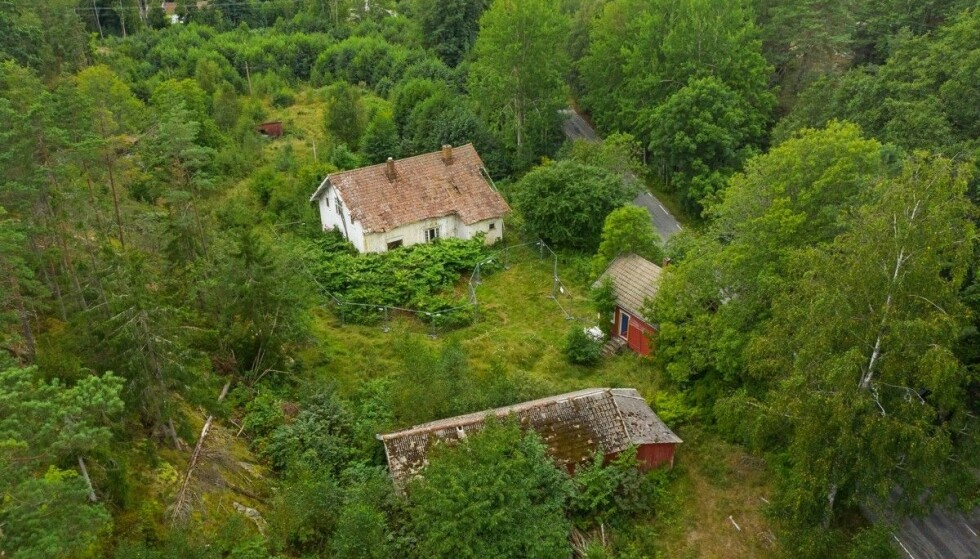 STOR TOMT: Tomten har et areal på 418 000 kvadratmeter. Foto: FotoCetera