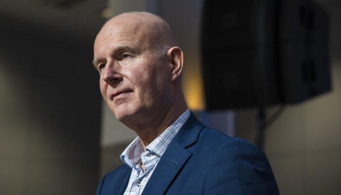 DIREKTØR: Helsedirektør Bjørn Guldvog. Foto: Jil Yngland / NTB