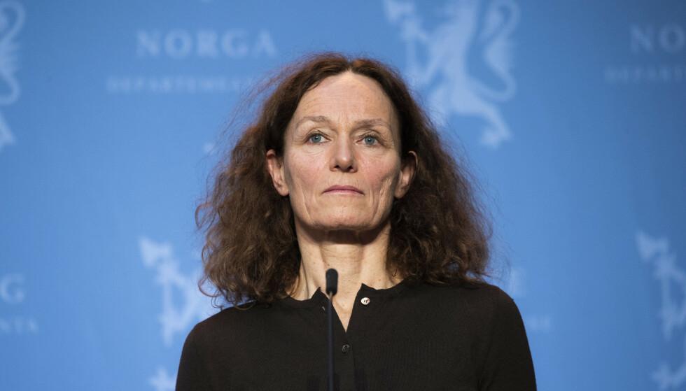 DIREKTØR: Camilla Stoltenberg er direktør i Folkehelseinstituttet. Foto: Berit Roald / NTB
