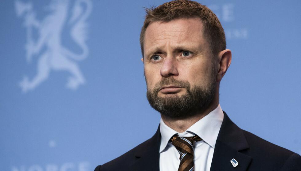 DÅRLIGST BETALT: Helse- og omsorgsminister Bent Høie. Foto: Berit Roald / NTB