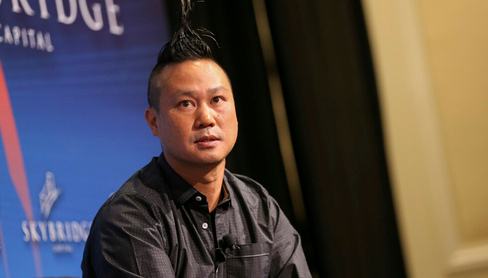 DØDE: Etter over 20 år som internettgründer med stor suksess, raknet det fullstendig for Tony Hsieh. Foto: REUTERS / Richard Brian / NTB