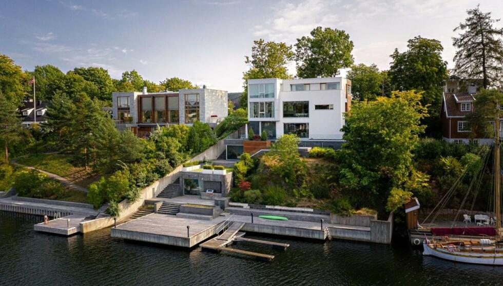 SELGER VILLA: Christian Sindings villa på Bygdøy selges for 85 millioner kroner. Foto: Studio Oslo