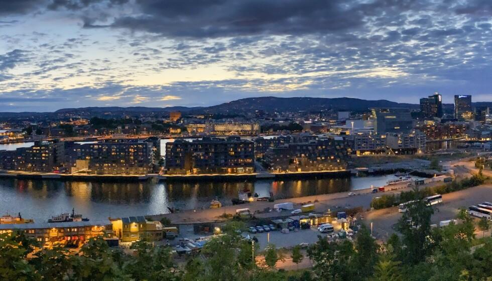 SKUMRING: Økokrim advarer nå mot at den organiserte kriminalitet sprer seg i Norge. Her fra Sørengkaia i Oslo, mot det nye Munch-museet og operaen. Foto: Lars Eivind Bones / Dagbladet