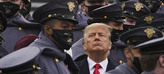 USA angrepet - Trump taus