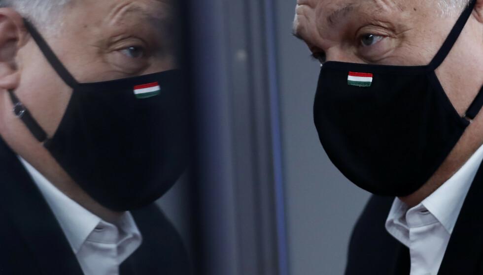 MILLIARDAVTALE: Ungarns statsminister Viktor Orbán og hans regjering er kommet til enighet med Norge om en ny pott med EØS-midler. Avtalen legger til rette for nesten 2,3 milliarder kroner i bistand til Ungarn de nærmeste årene. Foto: AP / NTB