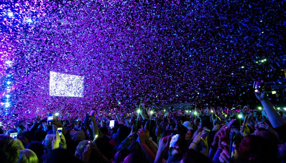 STEMNING: Trøkk og fult hus under Nicki Minaj-konserten i Oslo Spektrum i mars i fjor. Et år seinere kom pandemien og satte en stopper for alle massearrangementer. Foto: Frank Karlsen / Dagbladet