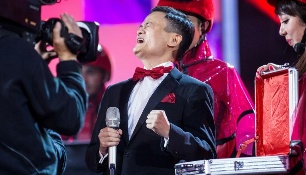 BORTE: Jack Ma har ikke blitt sett offentlig siden den historiske børsnoteringen til selskapet han er majoritetseier i, Ant Group, ble stanset for to måneder siden. Foto: AFP / NTB