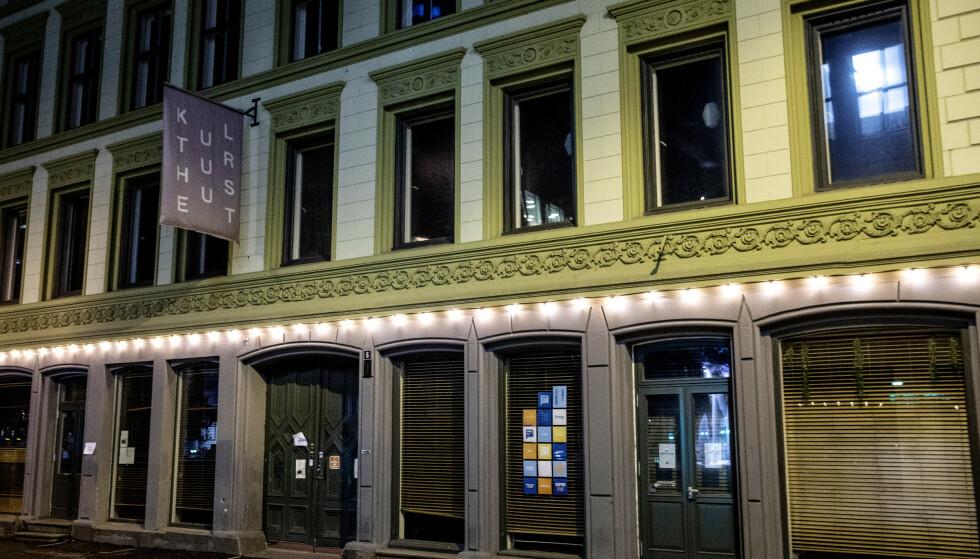 STENGT: NOHO Norways utesteder i Oslo, her representerte ved Kulturhuset, har vært stengt en stund allerede. Nå må utelivsgiganten stenge i Trondheim og Tromsø også. Foto: Nina Hansen / Dagbladet