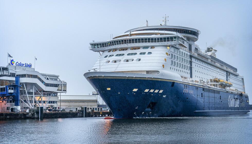 INNSTILT: Ms Color Magic mellom Oslo og Kiel innstilles inntil videre, opplyser Color Line. Foto: Hans Arne Vedlog / Dagbladet