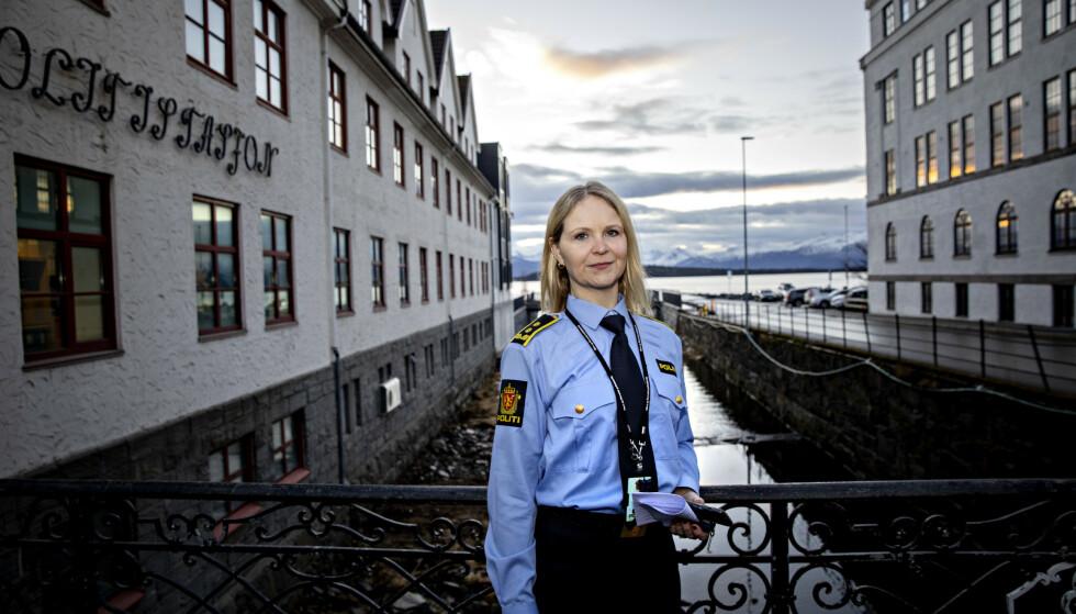 ETTERFORSKER: Politiadvokat Janne Woie ved politistasjonen i Molde utelukker ikke at det kan bli aktuelt å be om å få den 37 år gamle mannen utlevert fra Romania. - Man må nok etablere et samarbeid med utenlandske myndigheter på et tidspunkt, men detaljene i hvordan det skal gjøres kan jeg ikke gå inn i nå, sier hun.