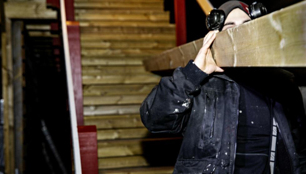 MÅTTE SKAFFE NY JOBB: Mads sier han sto på bar bakke etter at den tidligere forretningspartneren forsvant. Foto: Nina Hansen