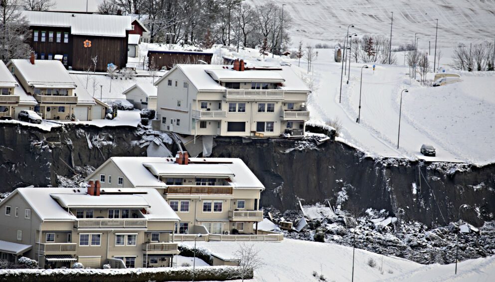 TILBAKE: - Det er helt åpenbart at kommunen må ta et skritt tilbake og se på framtidige byggeplaner på nytt, sier Gjerdrum-ordfører Anders Østensen. Foto: Frank Karlsen