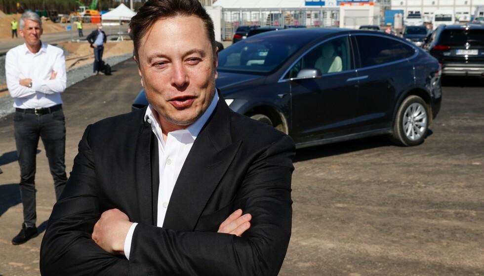 REFS: Elon Musk fyrer løs mot Facebook. Foto: Odd ANDERSEN / AFP / NTB