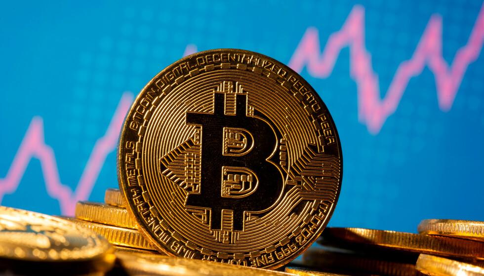 ENORM VEKST: Bitcoin har vokst i enormt tempo de siste månedene. Foto: REUTERS / Dado Ruvic / NTB