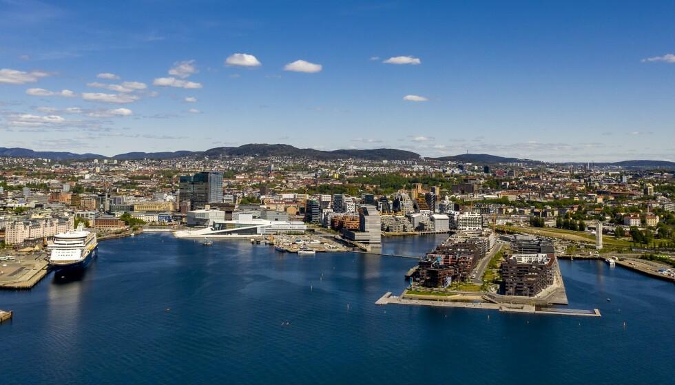 BRENNHETT: Boligprisene i Oslo fortsetter å skyte i været. For få nye boliger pekes på som hovedgrunn. Foto: Lars Eivind Bones / Dagbladet