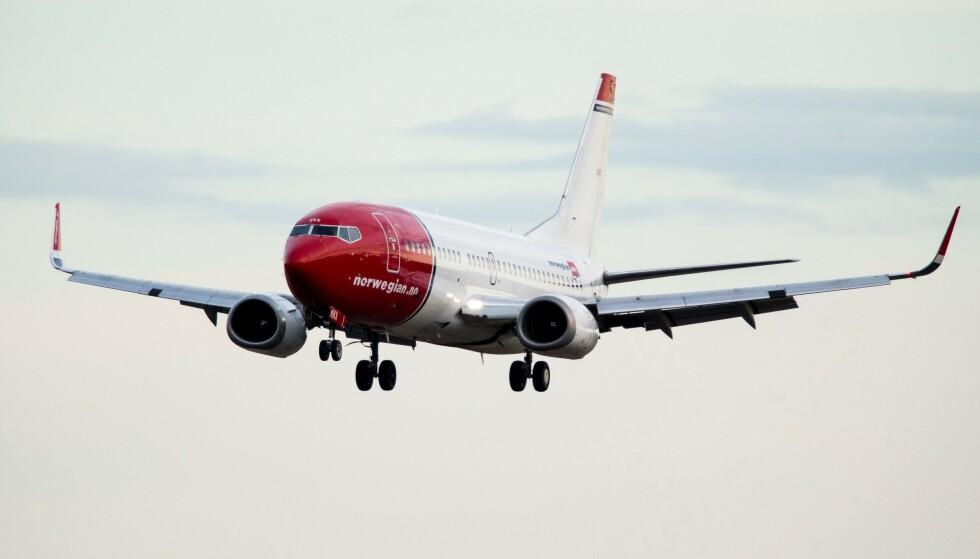 FLY: Norwegian legger ned langdistanserutene. Foto: Erlend AAS / NTB SCANPIX / AFP / NTB