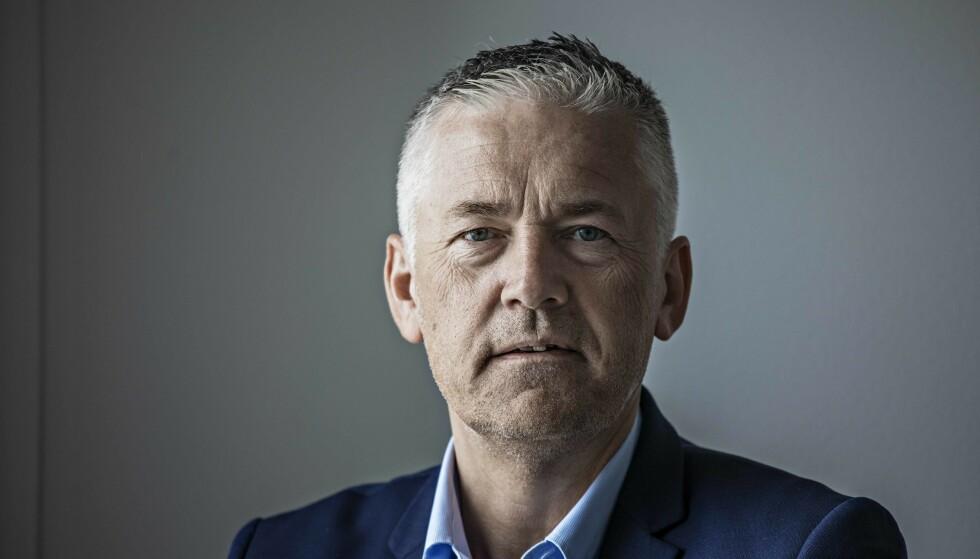 KRAFTIG ØKNING: NAV har hatt mange utfordringer i forbindelse med corona-situasjonen. Her Arbeids- og tjenestedirektør Kjell Hugvik Foto: Jørn H Moen / Dagbladet