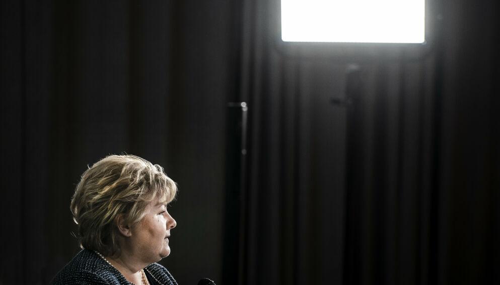 MØTES MANDAG: «Firerbanden», bestående av Arbeiderpartiet, Fremskrittspartiet, SV og Sp, kan påføre Erna Solberg nye nederlag. Foto: Hans Arne Vedlog / Dagbladet