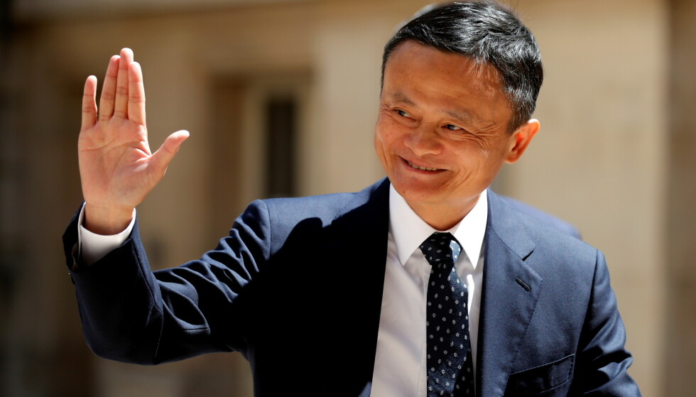 TILBAKE: Den kinesiske milliardæren Jack Ma har vist seg på TV. Foto:Charles Platiau / Reuters / NTB