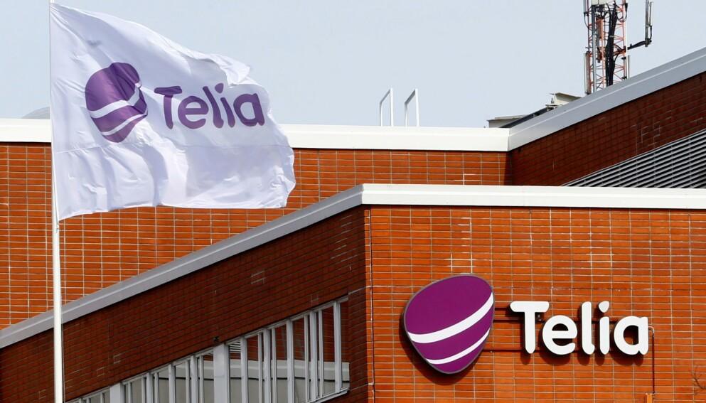 KOBLES TIL KONTROVERSIELL APP: Undersøkelser Dagbladet har utført viser at Telia er en av leverandørene som sørger for at Parler fungerer igjen. Foto: Reuters.
