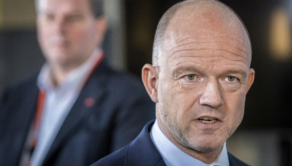 ALVOR: NHO-sjef Ole Erik Almlid sier det er an alvorlig situasjon i Oslo-regionen nå. Foto: Ole Berg-Rusten / NTB