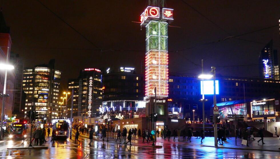 HIT: Folk i gatene, butikkene og på restaurantene. Vi skal tilbake hit, skriver Nordea-analytikerne. Foto: Erik Johansen / NTB