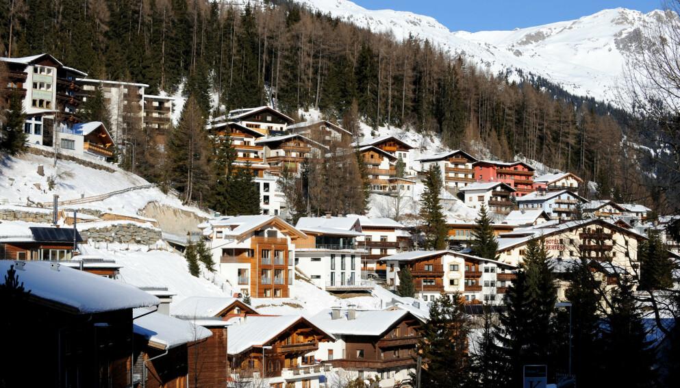FAVORITT: St. Anton am Arlberg er blant de mest populære skistedene i Alpene. Foto: Mark Large / Daily Mail / REX / NTB