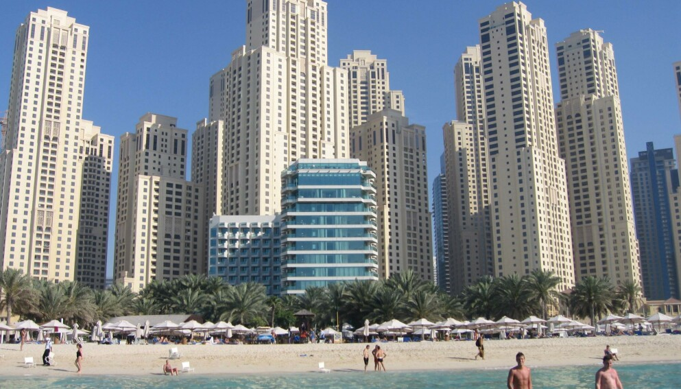 UTBRUDD: Smittetallene i Dubai skyter i været etter turiststrøm over jul og nyttår. Foto: REX (1431369e)