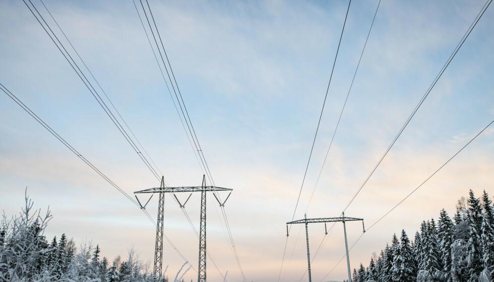 HAR ØKT KRAFTIG: Kaldt vær og stort forbruk har gjort at strømprisene har skutt i været de siste dagene. Foto: Paul Kleiven / NTB