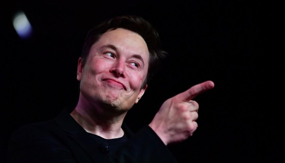GREI BONUS: Musk kan cashe ut en bonus på rolige 90 milliarder kroner. Foto: Frederic J. Brown / AFP / NTB